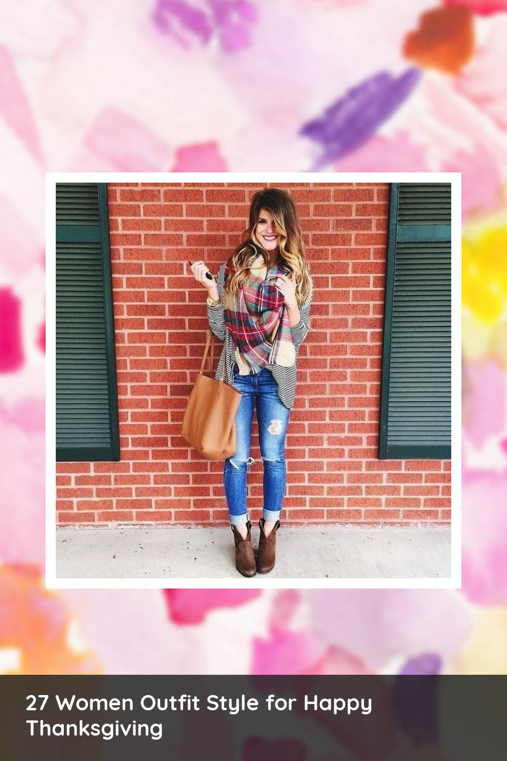 27 Women Outfit Style for Happy Thanksgiving 1