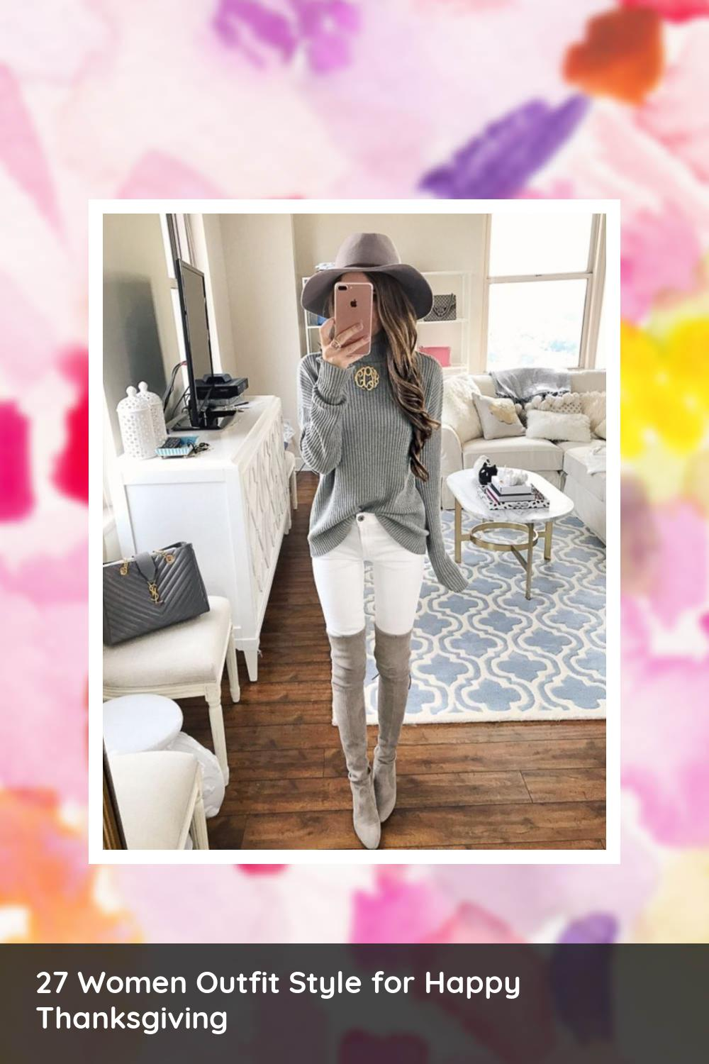 27 Women Outfit Style for Happy Thanksgiving 10