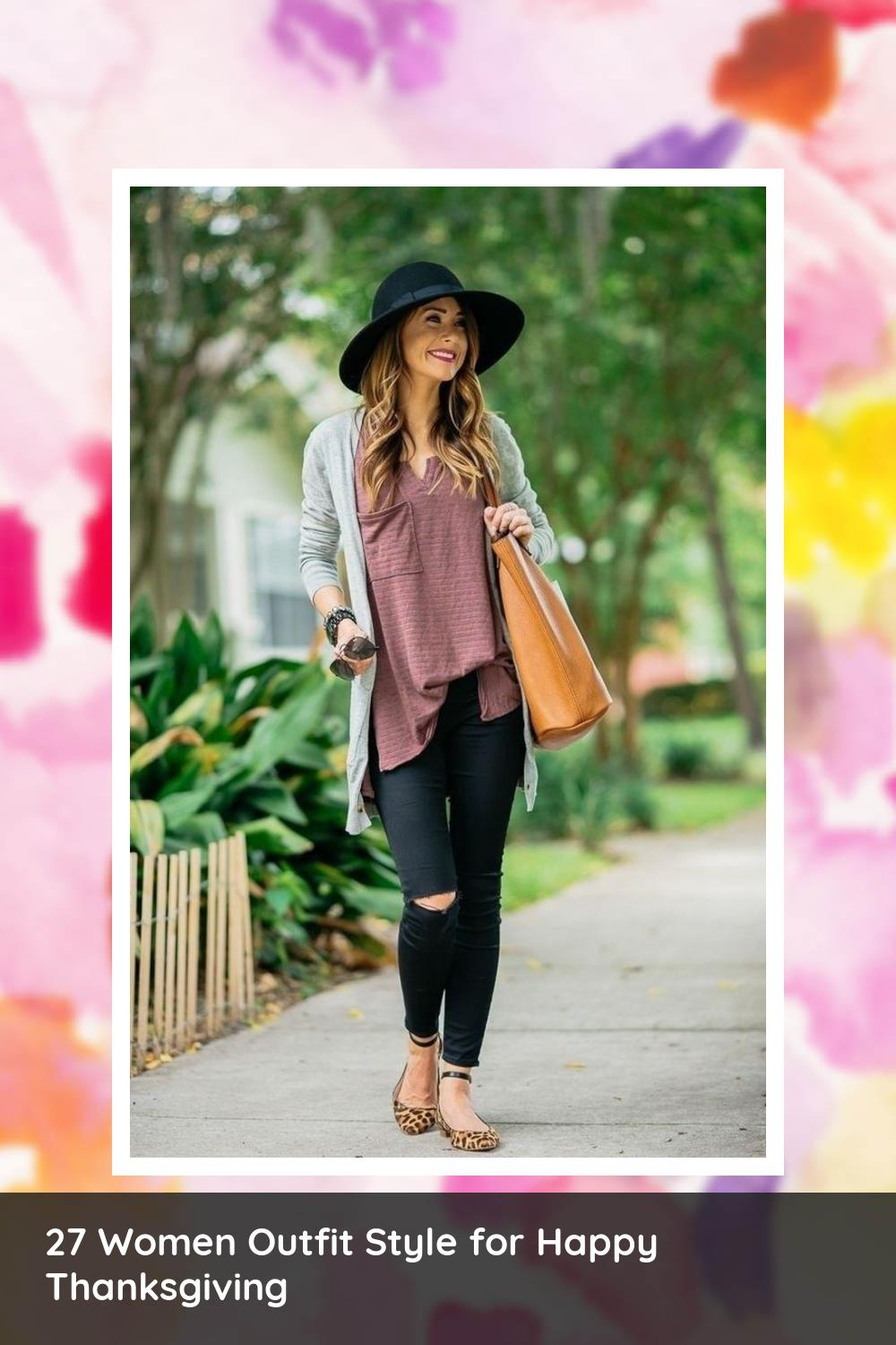 27 Women Outfit Style for Happy Thanksgiving 12
