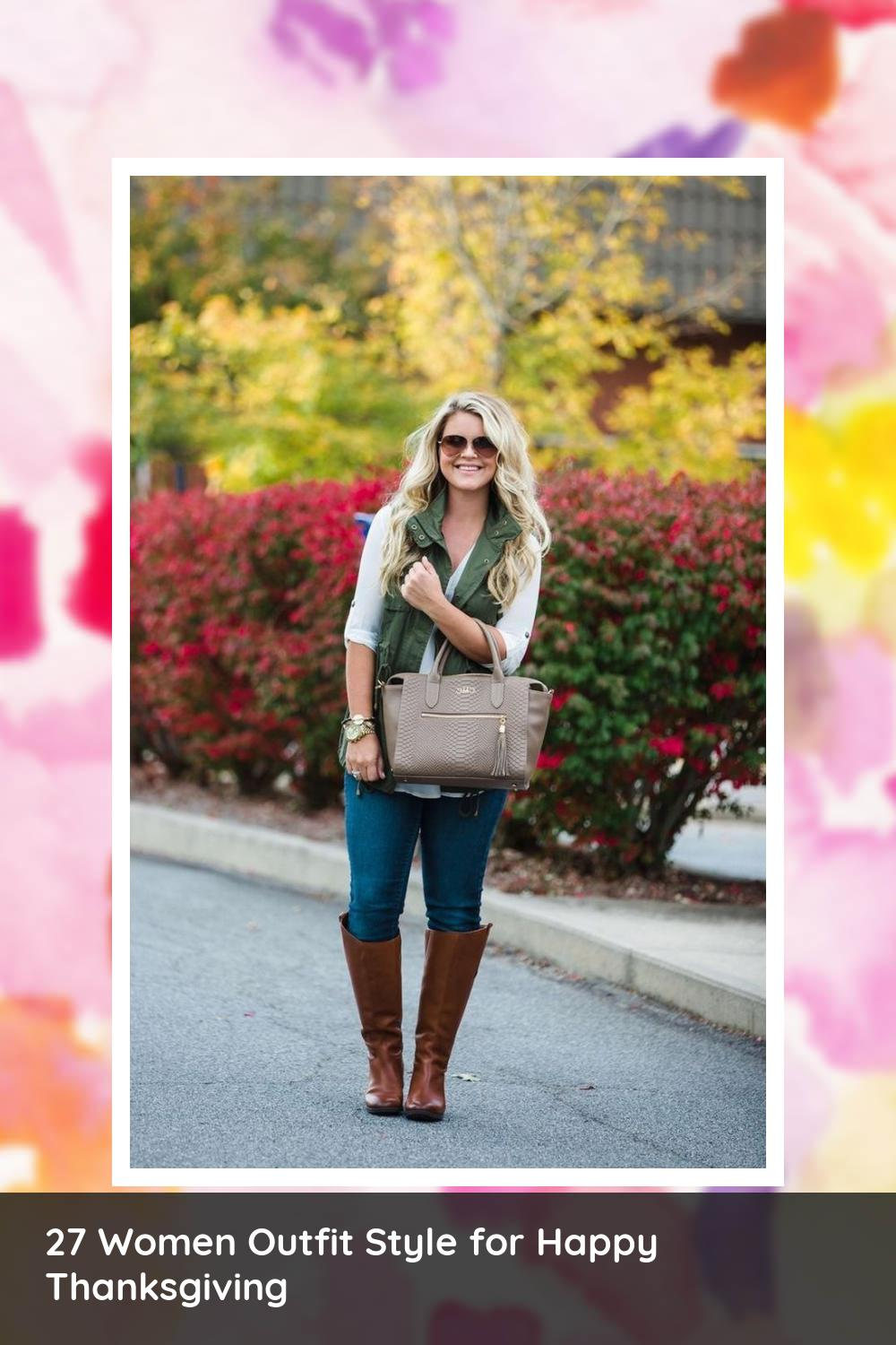 27 Women Outfit Style for Happy Thanksgiving 14