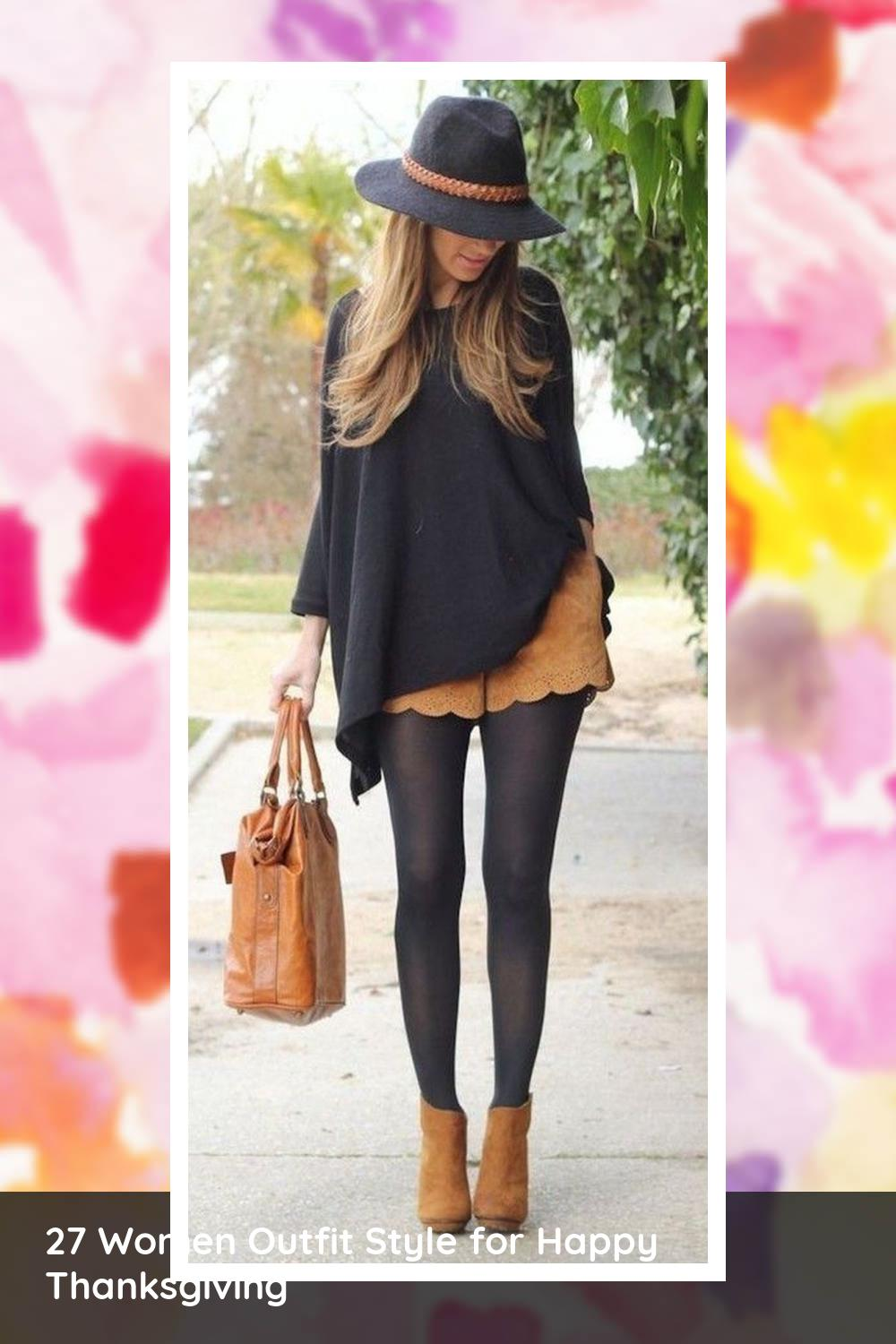 27 Women Outfit Style for Happy Thanksgiving 16