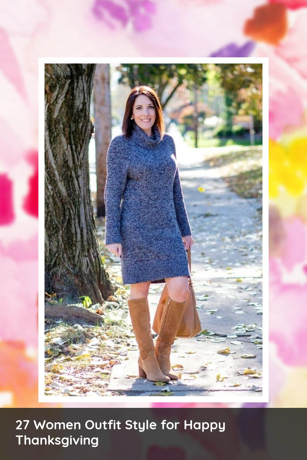 27 Women Outfit Style for Happy Thanksgiving 18