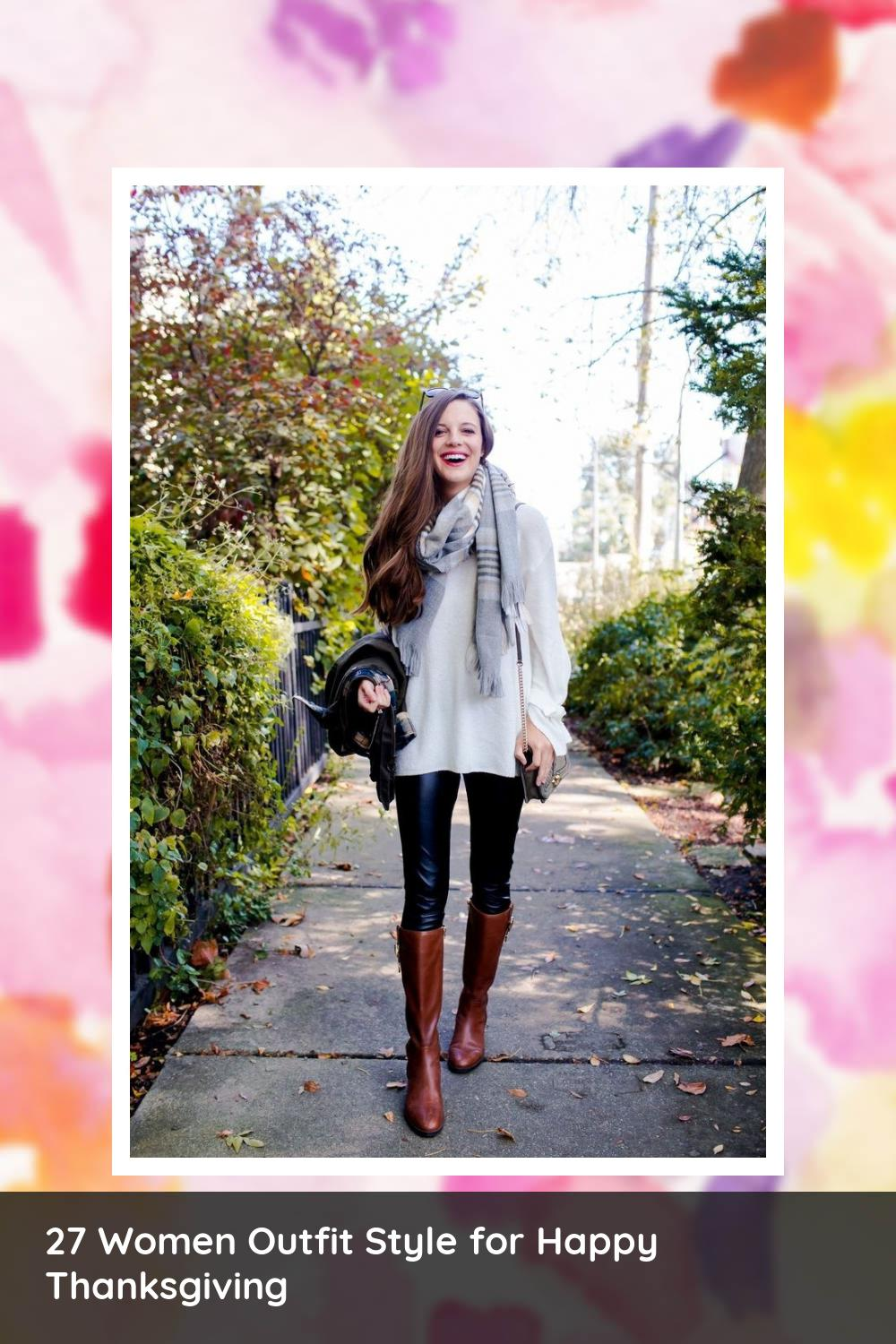 27 Women Outfit Style for Happy Thanksgiving 21