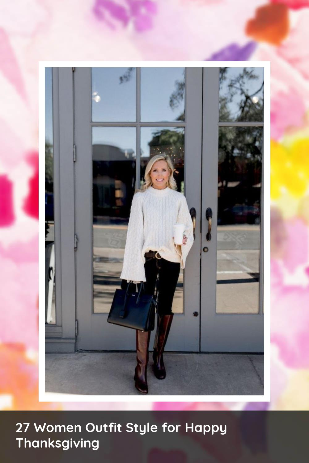 27 Women Outfit Style for Happy Thanksgiving 5
