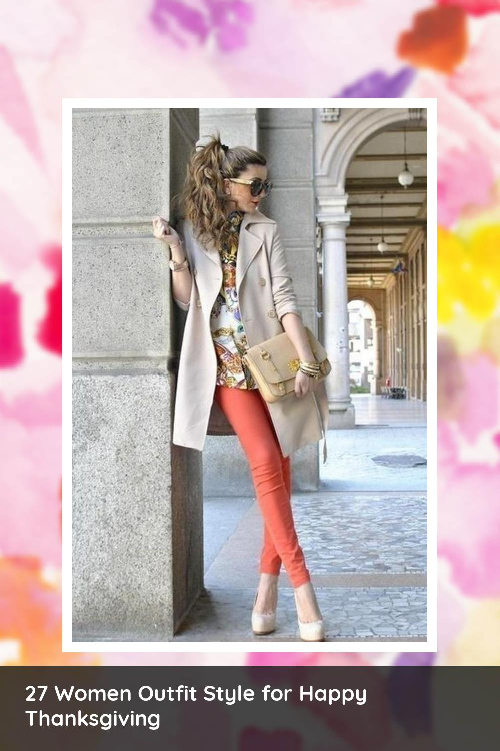 27 Women Outfit Style for Happy Thanksgiving 6