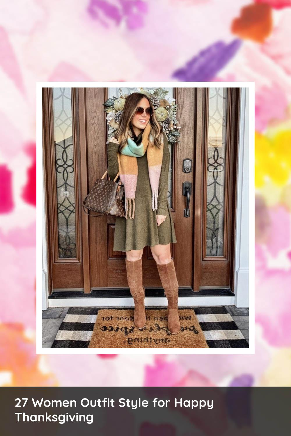 27 Women Outfit Style for Happy Thanksgiving 7