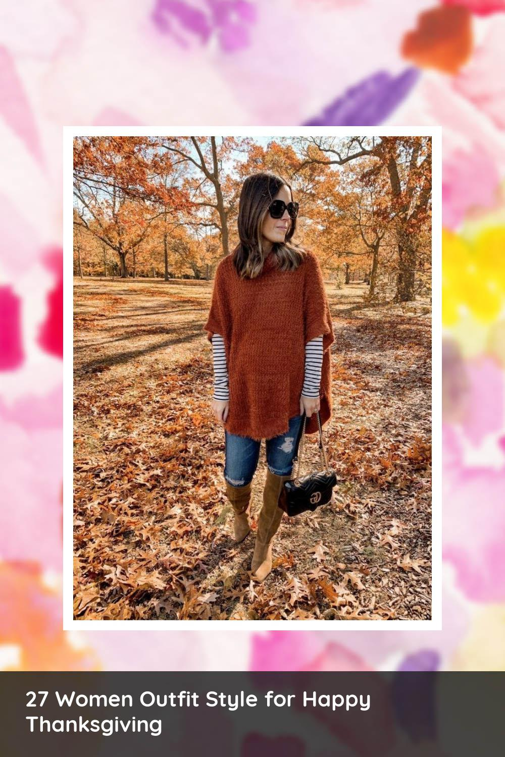 27 Women Outfit Style for Happy Thanksgiving 8