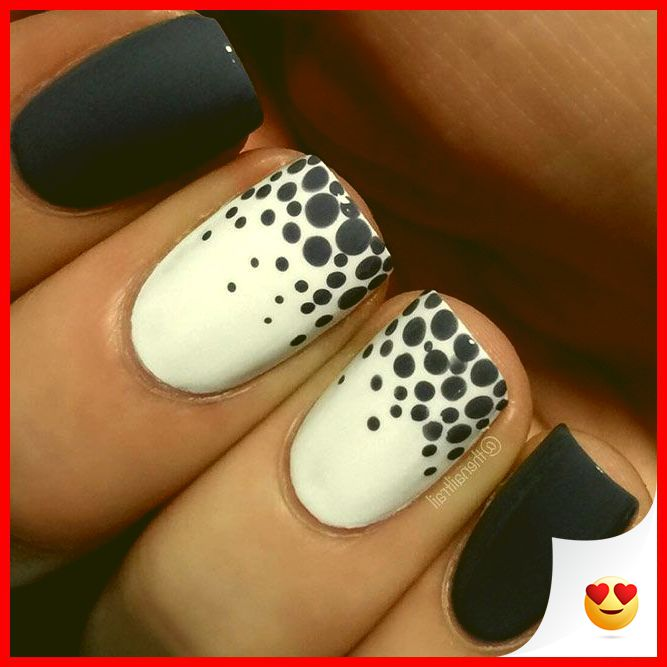33 Simple And Easy Nail Art Design Idea You Can Do 19