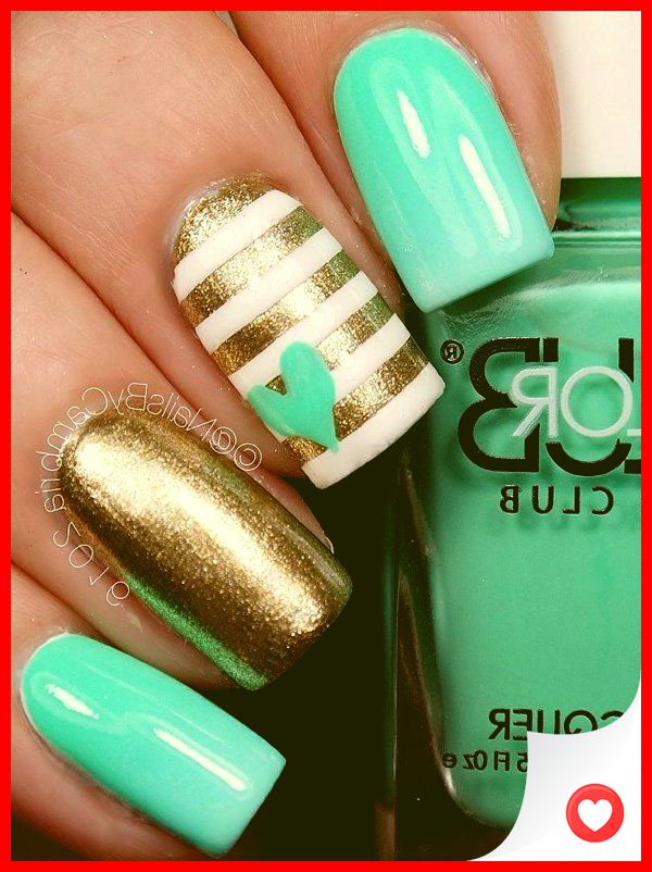33 Simple And Easy Nail Art Design Idea You Can Do 2
