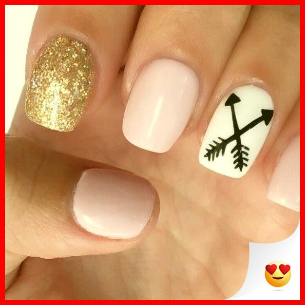 33 Simple And Easy Nail Art Design Idea You Can Do 23