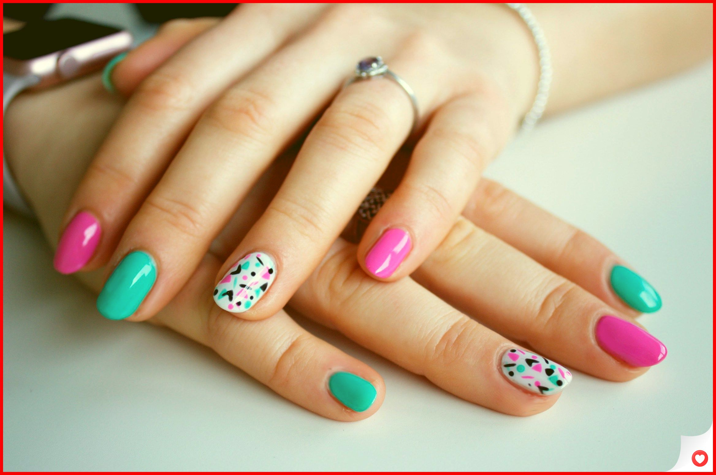 33 Simple And Easy Nail Art Design Idea You Can Do 25