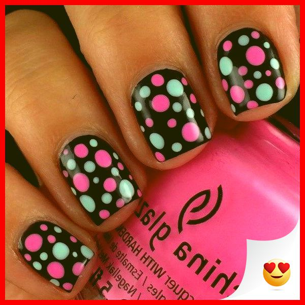 33 Simple And Easy Nail Art Design Idea You Can Do 27