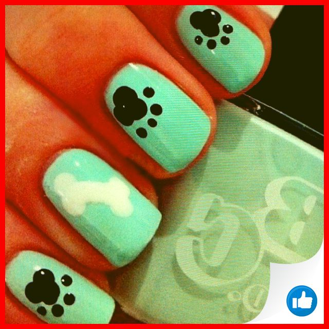 33 Simple And Easy Nail Art Design Idea You Can Do 32