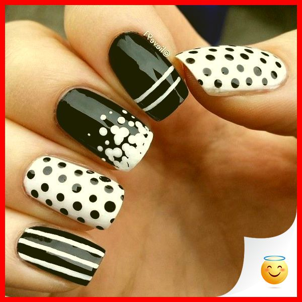 33 Simple And Easy Nail Art Design Idea You Can Do 4