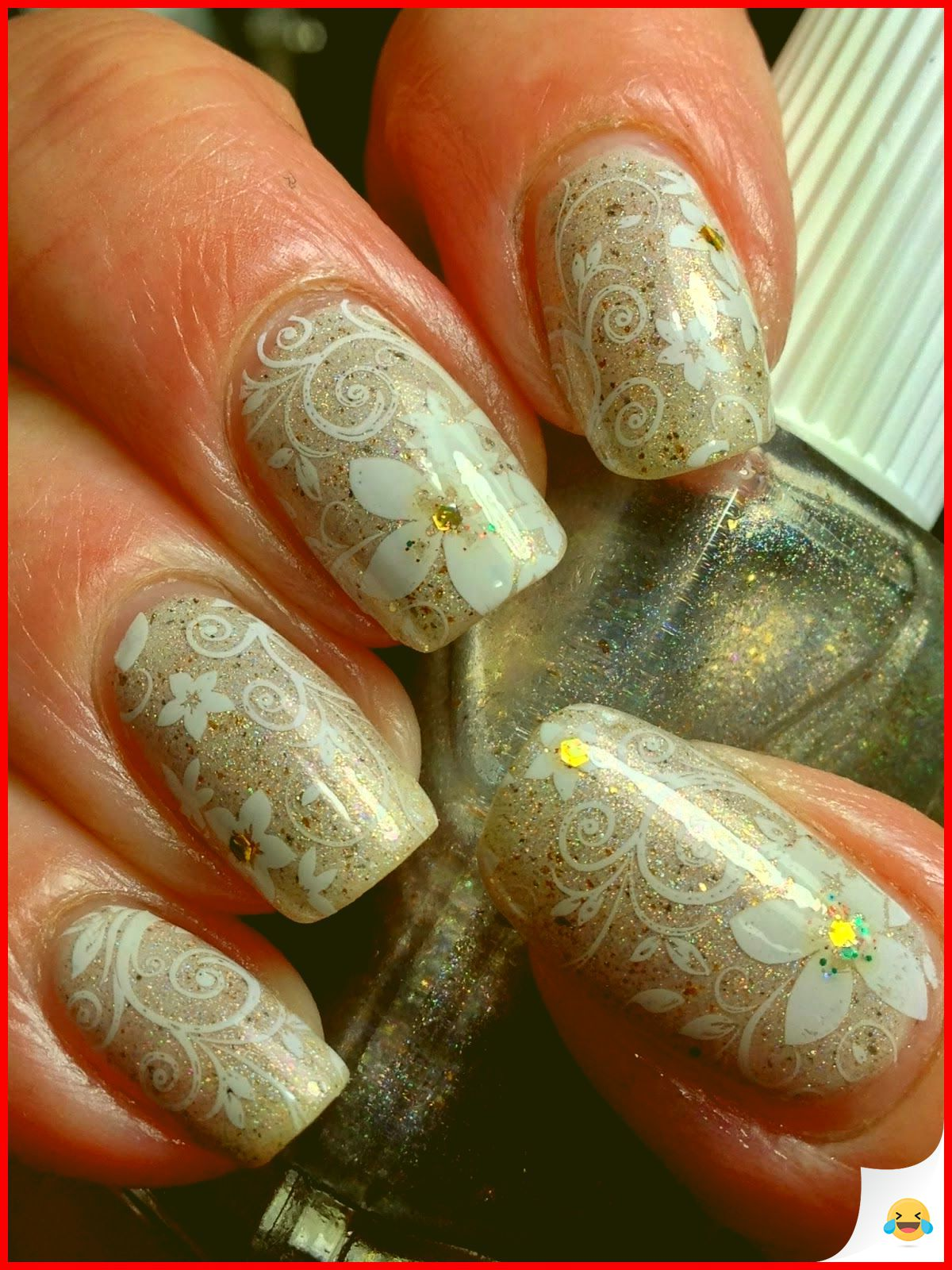 34 Most Sexy And Trendy Wedding Nail Art This Year 13