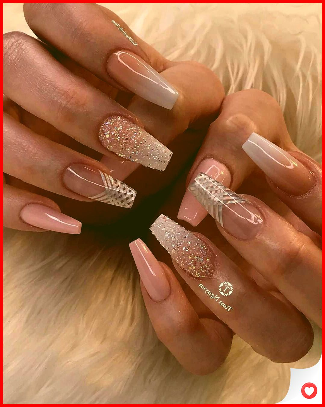 34 Most Sexy And Trendy Wedding Nail Art This Year 18