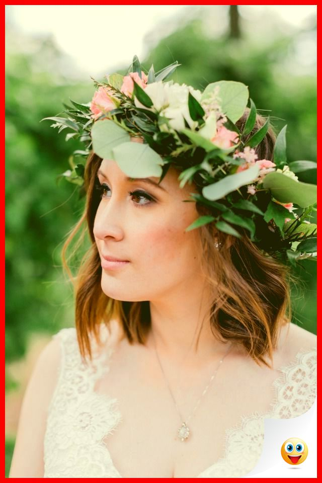 34 Wedding Tips: Look Beautiful with Hair Clips of Eucalyptus 1