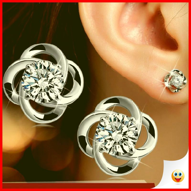 35 Charming Silver Earrings for Women aged 30th 11
