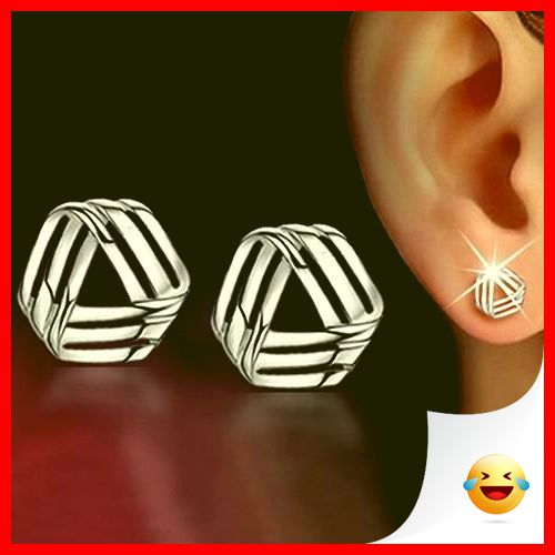 35 Charming Silver Earrings for Women aged 30th 14