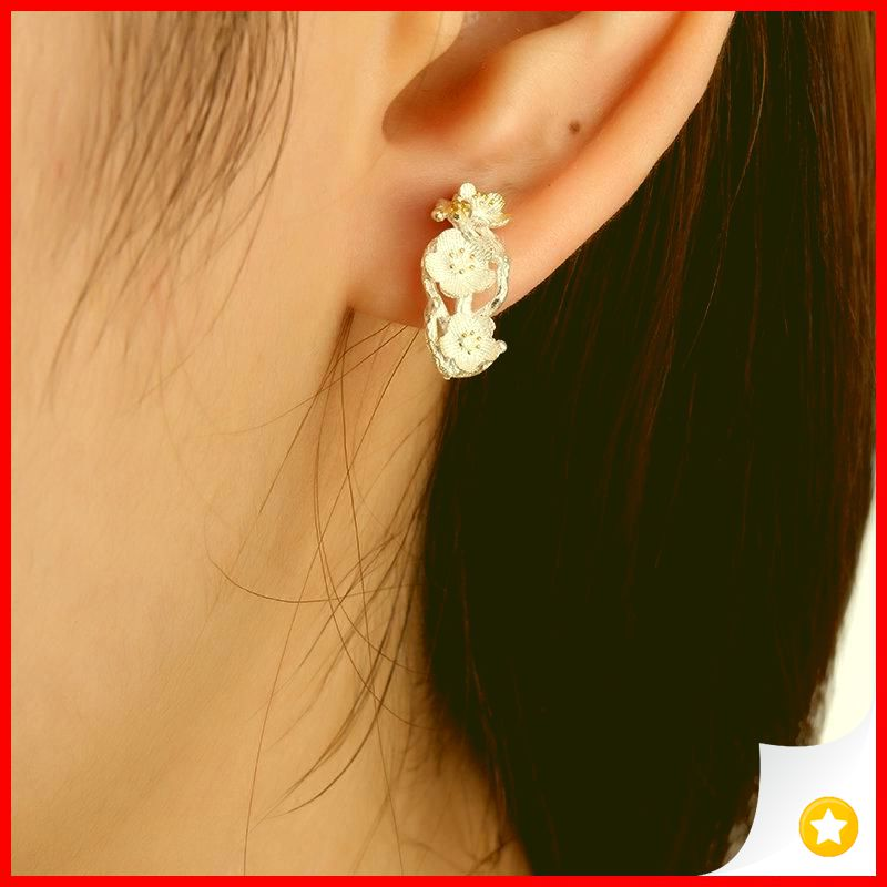 35 Charming Silver Earrings for Women aged 30th 19