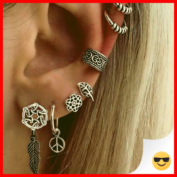 35 Charming Silver Earrings for Women aged 30th 26