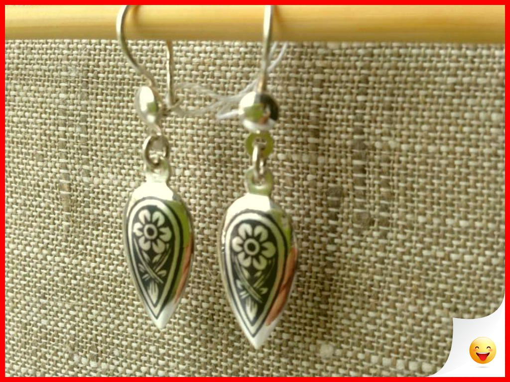 35 Charming Silver Earrings for Women aged 30th 34