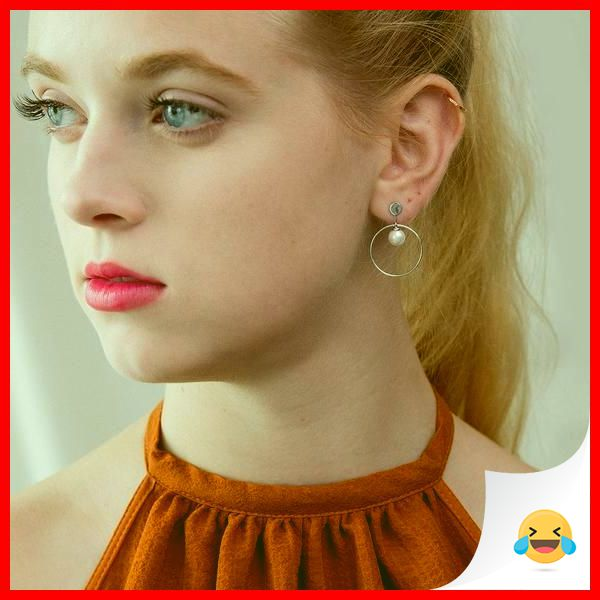 35 Charming Silver Earrings for Women aged 30th 7