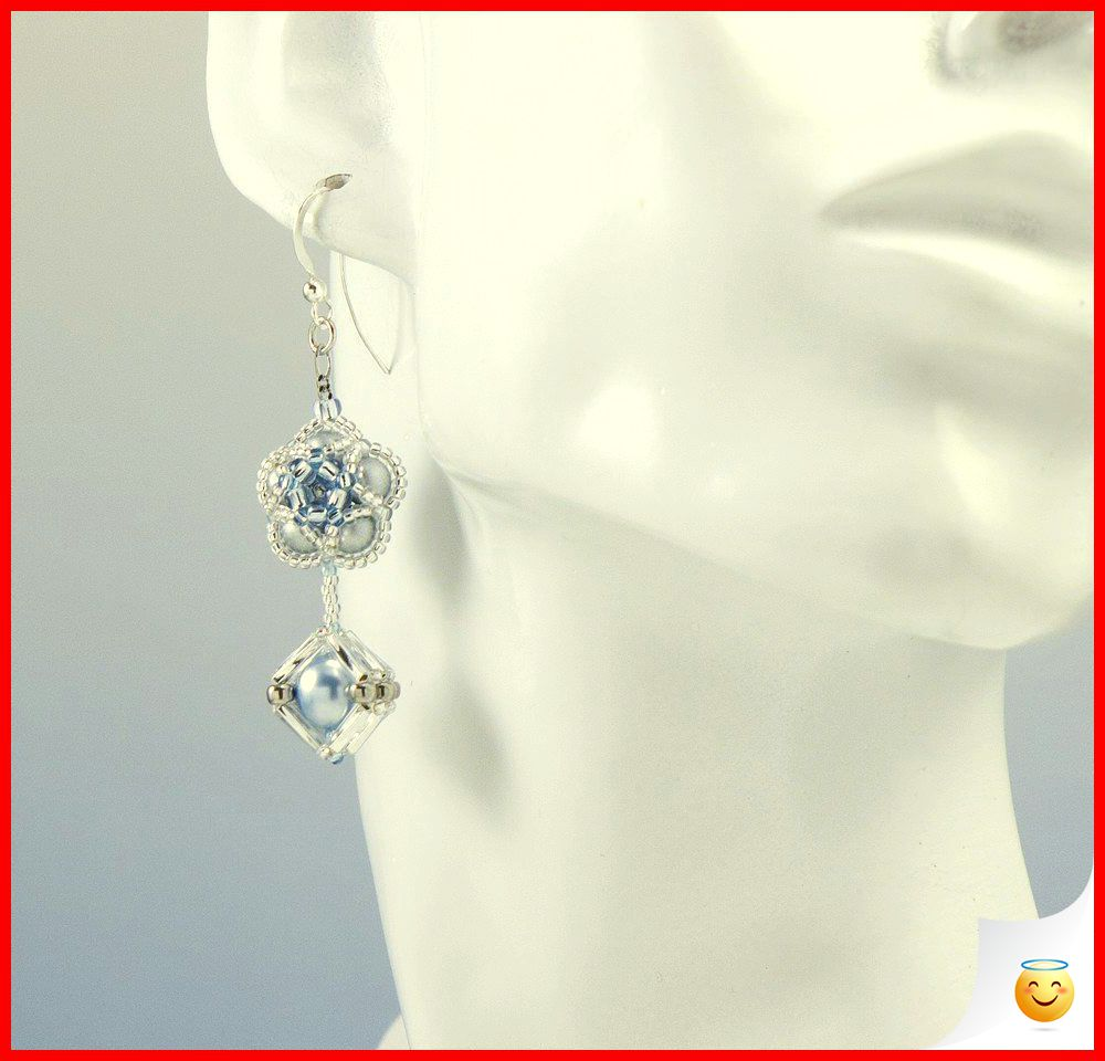35 Charming Silver Earrings for Women aged 30th 9
