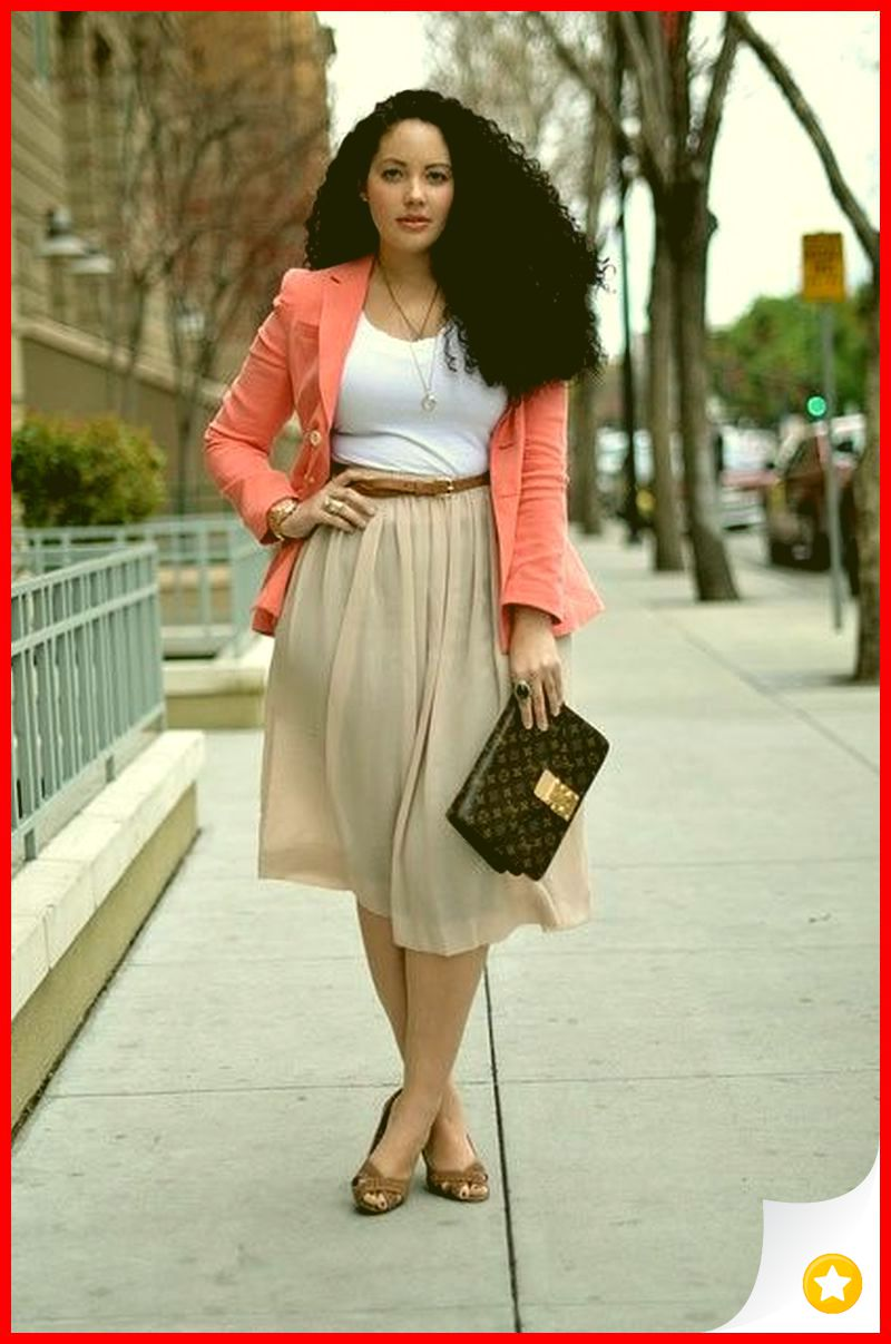 39 Elegant Work Outfit Idea for Plus Size women 1