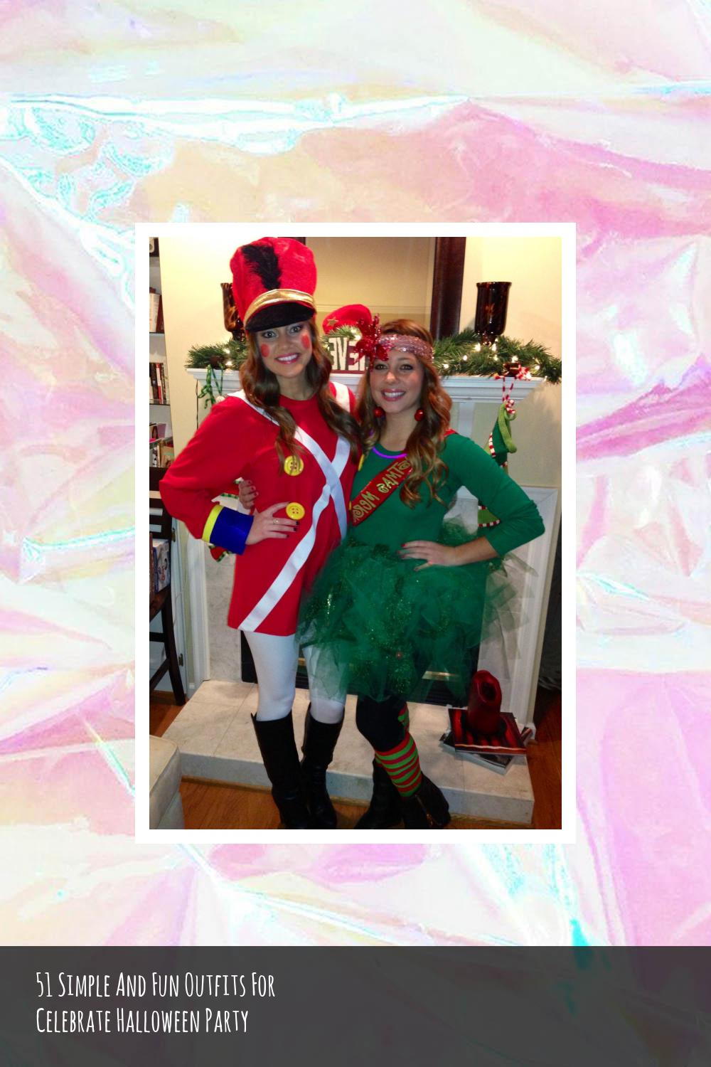 51 Simple And Fun Outfits For Celebrate Halloween Party 16