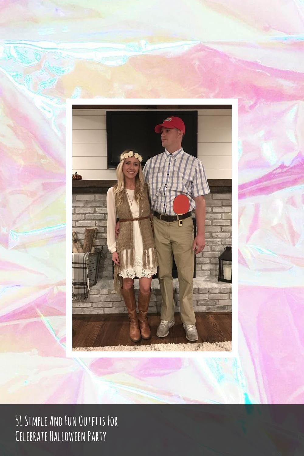 51 Simple And Fun Outfits For Celebrate Halloween Party 17
