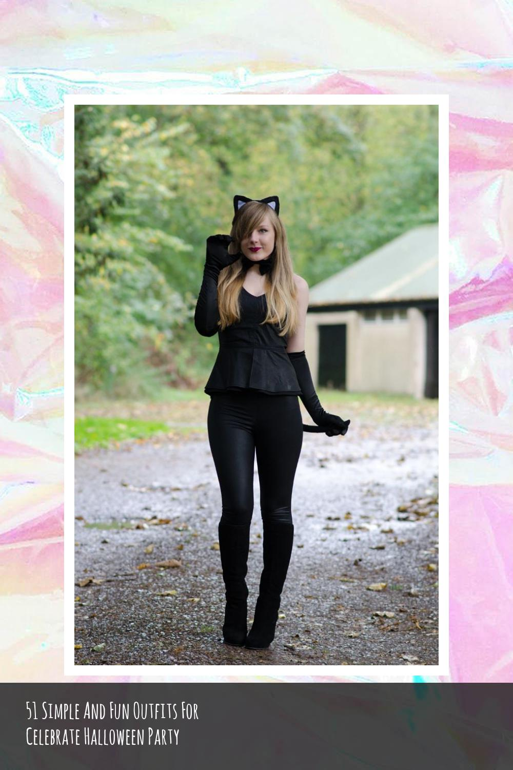 51 Simple And Fun Outfits For Celebrate Halloween Party 29