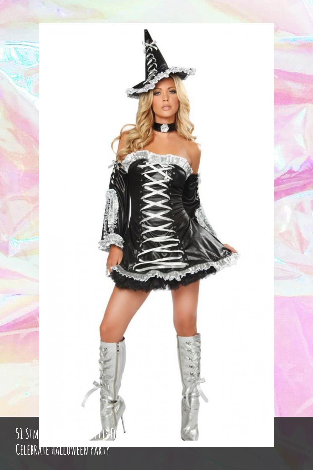 51 Simple And Fun Outfits For Celebrate Halloween Party 50